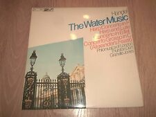 HANDEL ~ THE WATER MUSIC ~ HARP CONCERTO THURSTON DART / GRANVILLE JONES 2 X LP
