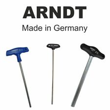 T-Handle Hex Key Allen Key Hexagon Key Keys CHROMIUM VANADIUM Steel ARNDT 500