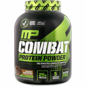 MusclePharm Combat Cookies And Cream Protein Powder - 4 Lbs