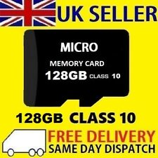 128GB Tarjeta Micro SD clase 10 TF Flash Memoria Mini SDHC SDXC - 128G-Nueva-UK