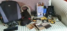 Huge JOB LOT Photography Cokin Filters, Flash, Battery, Lens Covers, Bag + MORE
