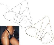 Women Body Jewelry Leg Thigh Waist Belt Chain Retro Chains Summer Gold Silver