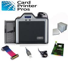 Fargo Hdp5000 Single Side Id Card Printer & Supplies Bundle (100-Day Warranty)
