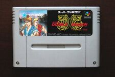 Super Famicom SFC Return of Double Dragon Japan SNES game US Seller