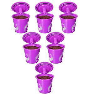 FROZ-CUP 2.0 - 6 Refillable/Reusable K Cups for Keurig 2.0 - K200, K300, K400...