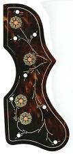 Gibson J-200 SJ-200 Road Worn tortoise shell engraved painted guitar pickguard