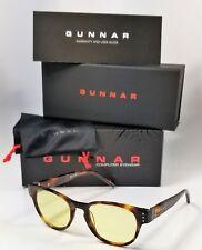 NEW GUNNAR BOT GAMING GLASSES tortoise amber computer blue light Rx eyewear
