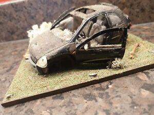 Ford Ka Diorama Dumped Barnfind