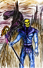 "Skeletor Snake Mountain He-Man ""The Master of Evil"" 11 x 17 High Quality Poster"