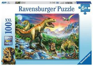 Ravensburger Time of the Dinosaurs 100 pcs Puzzle 6+ (Dinosaurs)