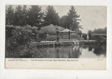 The Recreation Grounds New Plymouth New Zealand Vintage Postcard 952a