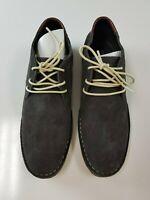 Kenneth Cole Reaction Desert Sun (Dark Grey) Men's Lace-up Boots - Size 9.5
