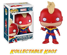 The Avengers - Captain Marvel Masked Pop! Vinyl Figure