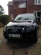 Audi Q5 2.0 litre SE TDI Black 2010 low miles one previous owner leather manual