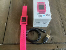Pebble Smart Watch 301PK Pink iPhone Android Bluetooth