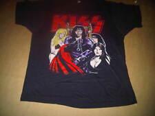 Kiss Large Gene Simmons Dirty Job Somebody's Gotta Do It 1987 Crazy Nights Shirt