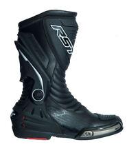 RST 2102 Tractech III Waterproof Race Black Motorcycle BOOTS Eu43 UK 9 USA 9.5
