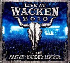 NEW Wacken 2010-Live At Wacken Open Air (Audio CD)
