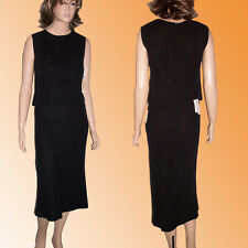 PHILOSOPHY ALBERTA FERRETTI  2pc Linen Dress $1500 Retail 8 Light Sparkle Black
