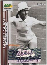 2013 Ace Grand Slam Tennis Auto:Nancy Richey #1/25 Autograph Winner 5x Slams 1/1