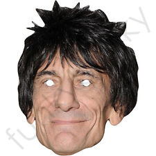 RONNIE Wood-Rolling Stones celebrity chanteur groupe carte Masque-RU