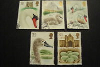 GB 1993 Commemorative Stamps~Swannery~Very Fine Used Set~UK Seller