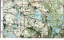 Potsdam Fahrland Ütz Töplitz 1913 Teilkarte/Ln. Sacrow Bornstedt Bornim Golm