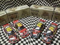 (4) - 1/24 Jeff Gordon Milestone Cars - 3x Daytona, 4x Indy, 1st win, 4x Champ