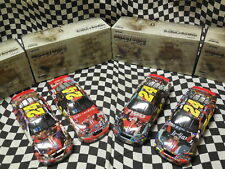 (4) - 1/24 Jeff Gordon Milestone Cars - 3x Daytona, 4x Indy, 1st win, 4x Champ
