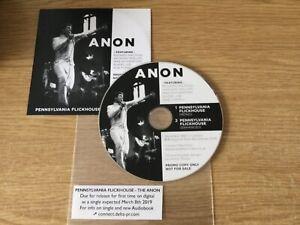 Promotional Fan Club cd single : Anon (Pre Genesis)  – Pennsylvania Flickhouse