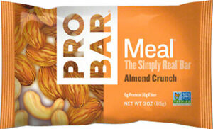 ProBar Meal On The Go: Almond Crunch Box of 12