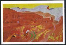 Postcard. Art/Painting. Ibdes in Aragon. Andre Masson. Tate Gallery. Unused.