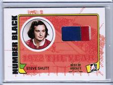 2015 LEAF BEST OF HOCKEY 09/10 STEVE SHUTT 1972 YEAR IN NUMBER PATCH 1/1 HABS