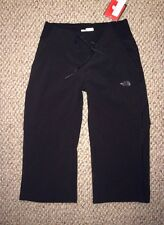 NWT THE NORTH FACE OUT THE DOOR CAPRI BLACK CAPRIS SZ S SMALL NEW $70