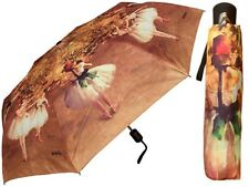 "Umbrella - Fine Art Design - ""Ballerina"" by Degas - 42"" - Matching Case"