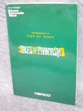 TALES OF PHANTASIA Namco Official Guide SFC Book TK*