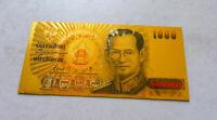 "★ THAILANDE / THAILAND : BILLET POLYMER  "" OR "" DU 1000 BAHT 2005  ★"