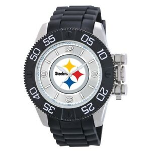 Men's Black watch Beast - NFL - Pittsburgh Steelers - Gift box included