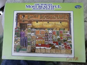 The Worlds Most Beautiful Jigsaw Puzzles Daisy Buchanan's Holdson Greengrocer