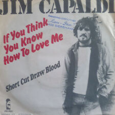 "7"" 1976 CV SMOKIE RARE VG++ ! JIM CAPALDI : If You Think You Know How To Love Me"
