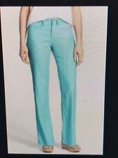 NWT NYDJ Not Your Daughters Jeans AQUA SPLASH Trousers SLIMMING $114 Size 12P
