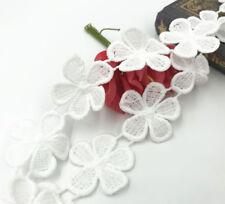 3 Yards Blumen Baumwolle Spitze Trim Dekorative Hochzeitskleid Zubehör