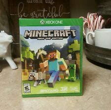 NEW Minecraft Game Xbox One Edition Microsoft XB1 Build Notch Mojang Youtube