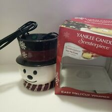 Yankee Candle Snowman Scenterpiece Easy MeltCup Warmer