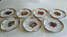KPM Berlin Art Nouveau Porcelain 7 Plates