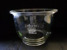 Corning PYREX Glass 7.5L Large Replacement Desiccator Bottom Bowl Only Damaged