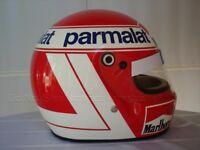 NIKI LAUDA 1984 WORLD CHAMPION F1 REPLICA HELMET FULL SIZE HELM CASQUE CASCO