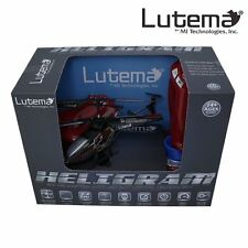 Lutema Heligram Flight Simulator R/C Helicopter with LED Sky Writing Technology