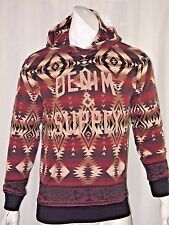 Denim Supply Ralph Lauren Native American Southwestern graphic hoodie size xxl