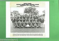 #T105.  SOUTH SYDNEY JUNIOR RUGBY LEAGUE PHOTO - 1975  PRESIDENT CUP TEAM